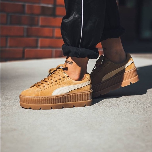 NEW Puma x Fenty by Rihanna Cleated Creeper 7.5 c9b30c2f7d